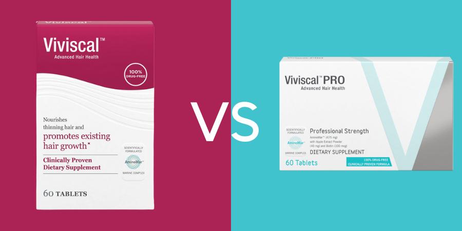 Viviscal vs Viviscal Professional