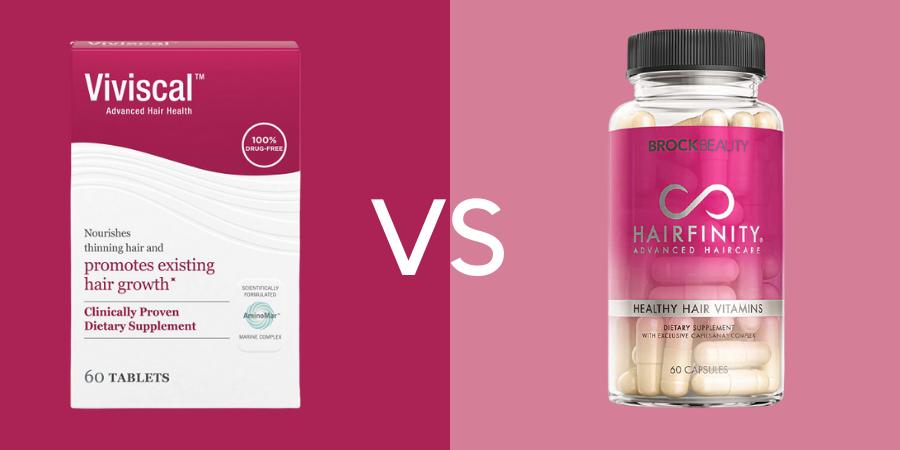 Viviscal vs Hairfinity
