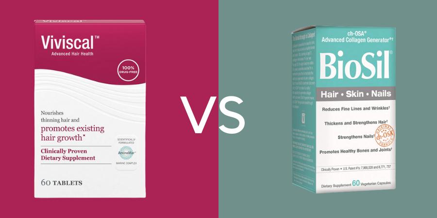 Viviscal vs Biosil