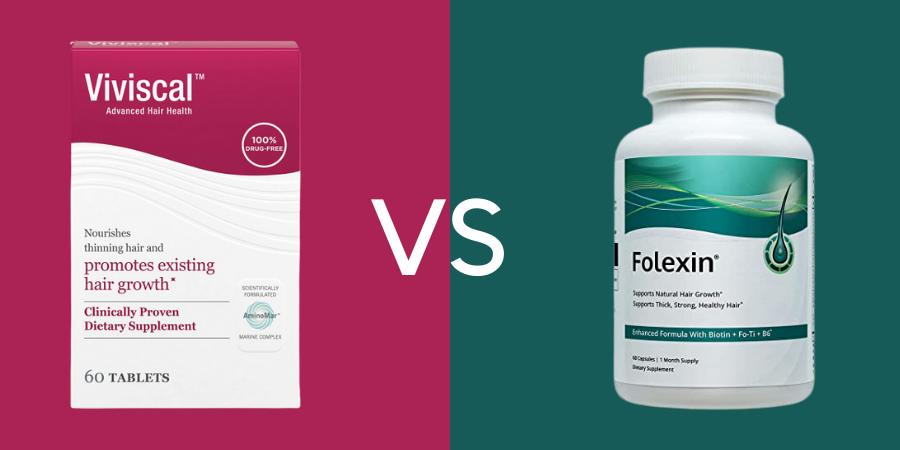Viviscal vs Folexin